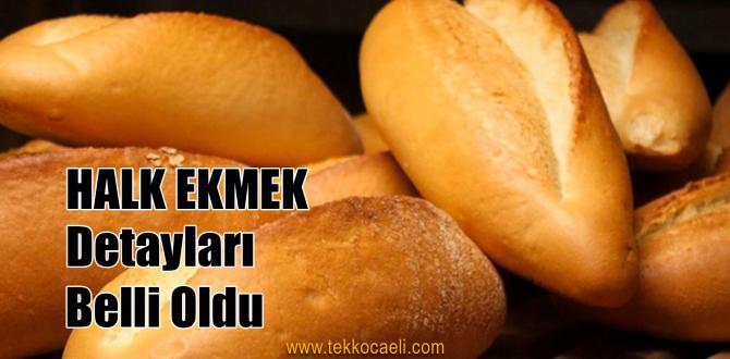 'Halk Ekmek' Başlıyor