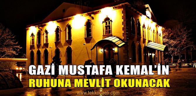 İzmit Belediyesi, 10 Kasım'da Mevlit Okutacak