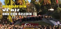 Biz 'İzmitiz' Grup Üyeleri Atatürk'ü Rahmetle Andı