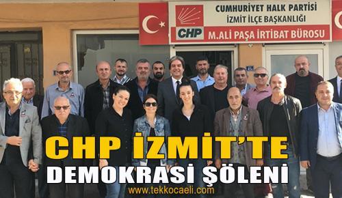 CHP İzmit'te Demokratik Seçim