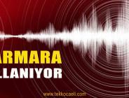 Marmara'da Deprem Oldu