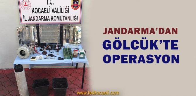 Jandarma'dan Eve Baskın