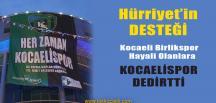 Kocaelispor'un En Büyük Destekçisi Fatma Kaplan Hürriyet Oldu