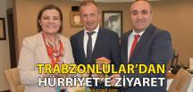 Kocaeli Trabzonlular Derneği, Hürriyet'i Ziyaret Etti