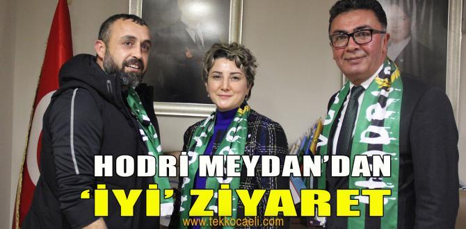 Hodri Meydan'dan İYİ Parti'ye Ziyaret