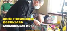 Jandarma'dan Lösemi Hastası Çocuklara Moral Ziyareti