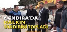 Kandıra'da Adnan Turan Sahadan Ayrılmıyor