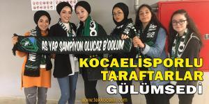 Hürriyet'in Dağıttığı Atkılar Kocaelispor Taraftarını Gülümsetti