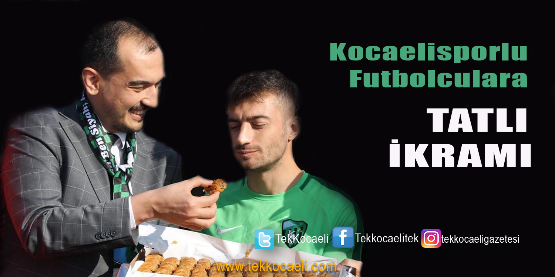 Ali Güney'den Kocaelispor'a Moral Ziyareti