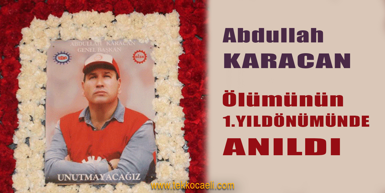 Abdullah Karacan İçin Mevlid Okutuldu