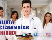 41 Sağlık Personeli Yeni Görevine Başlayacak
