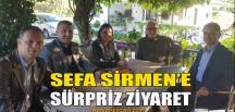 Başkan Hürriyet'ten Sirmen'e Ziyaret