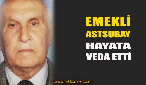 Emekli Astsubay Süleyman Sırrı Çavdar Vefat Etti