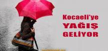 Kocaeli'ye Yağmur Geliyor