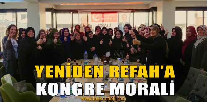Yeniden Refah Partisi'nde Kadınlar Toplandı