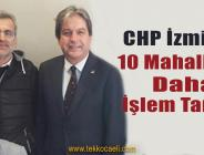 CHP İzmit'te 10 Mahallede Daha Delegeler Seçildi