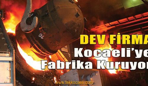 Çelik Üretiminde Dev Firma Fabrika Kuruyor