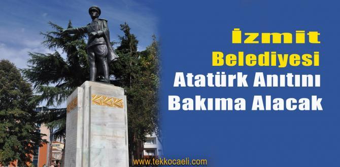Atatürk Anıtı Bakıma Alınacak