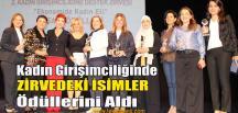 Kadın Girişimciliğine Destek Zirvesi Başarı Ödülleri Sahiplerini Buldu