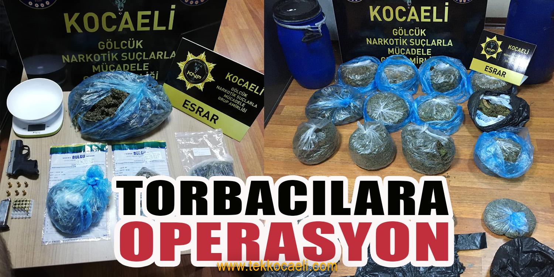 Torbacılara Operasyon; Gözaltılar Var