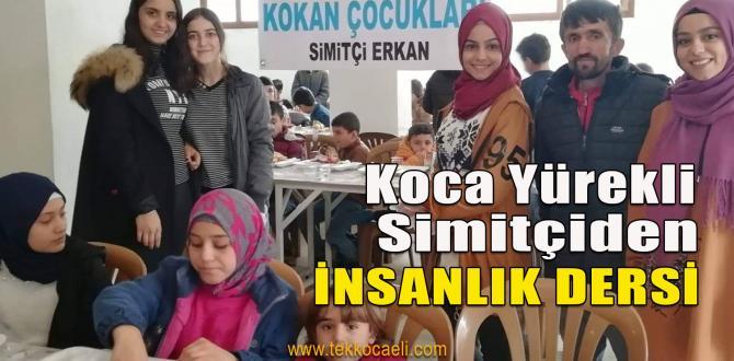 Simitçi Erkan, Öksüz ve Yetim Çocuklara Sahip Çıktı