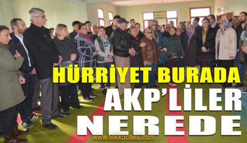 Sosyal Medyada Sallayan AKP'liler Köye Gelemedi