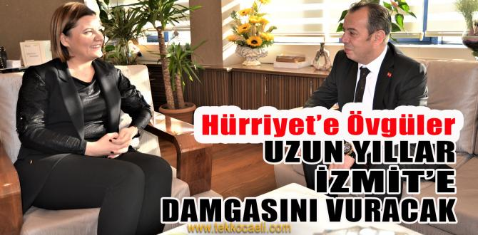 Bolu Belediye Başkanı Tanju Özcan'dan Hürriyet'e Ziyaret