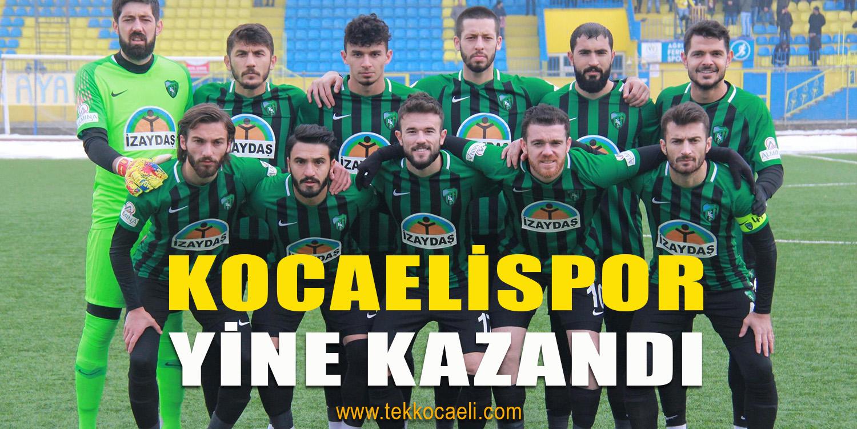 Kocaelispor Deplasmanda Güldü: 0-1
