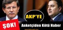 Ünlü Anketçiden AKP'ye Kötü Haber