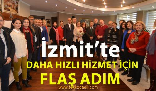 Başkan Hürriyet'ten İzmit'te Flaş Adım