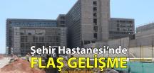 Vali Aksoy'dan Şehir Hastanesi Açıklaması