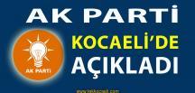 Ak Parti Kocaeli'de Beklenen Açıklama