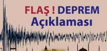Deprem Uzmanından Flaş Açıklama