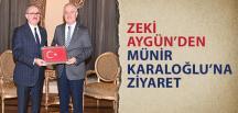 Zeki Aygün'den Antakya Valisi Karaloğlu'na Ziyaret