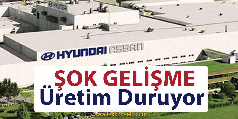 Hyundai Assan'da Üretim Duruyor
