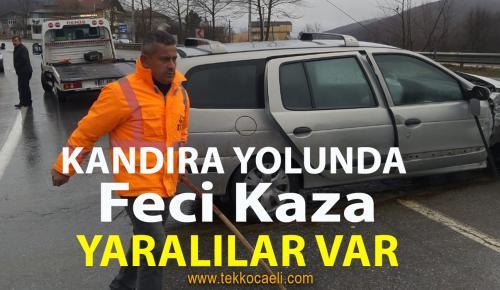 İzmit Çubuklu'da Kaza