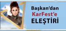 KarFest, Daha İlk Gününde Eleştiri Aldı