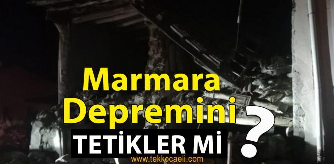 Elazığ Depremi, Marmara Depremi'ni Tetikler mi?