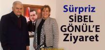 Binali Yıldırım, Sibel Gönül'ü Ofisinde Ziyaret Etti
