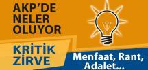 AKP Genel Merkezi'nde Kritik Zirve
