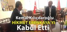 Erenkaya, CHP Lideri Kılıçdaroğlu İle Görüştü