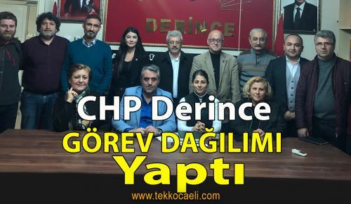 CHP Derince'de Görev Dağılımı Yapıldı