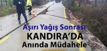 Aşırı Yağış Sonrası Kandıra'da Seferberlik