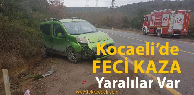 Kocaeli'de Kaza; Yaralılar Var