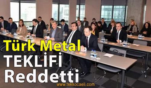 Türk Metal ile MESS Anlaşamadı