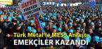 TÜRK Metal Zafer Kazandı