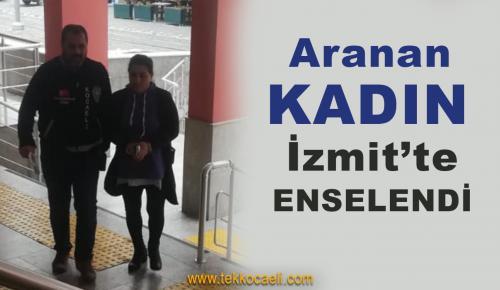 10 Yıl Hapse Mahkum Olan Kadın Yakalandı