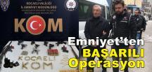 Silah Kaçakçılığı Yapan Gruba Operasyon