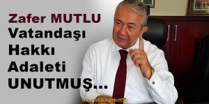 CHP'den Zafer Mutlu'ya Referandum Tepkisi