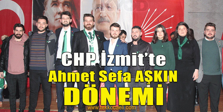 CHP İzmit'te, Gençlik Aşkın'a Emanet
